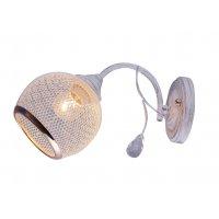 Светильник бытовой настенный 10186/1 MTWH+FGD