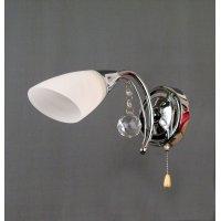 Светильник настенный на одну светоточку  GLB-8421-1-8C