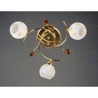 Светильник потолочный на три светоточки GLX-8418-3-2RG