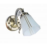 Светильник настенный на одну светоточку  GLB-8791-1-21QG