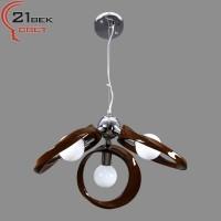 8305/3 коричневый светильник потолочный