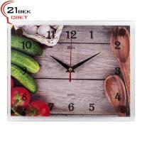 """Часы настенные """"Предвкушение салата""""  2026-194"""