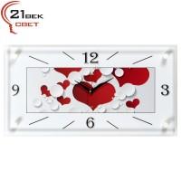 """Часы настенные """"Сердца"""" 5226-1089"""