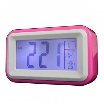 Будильник KR0580 розовый