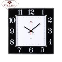 """Часы настенные черные """"Классика"""" 3131-1131B"""