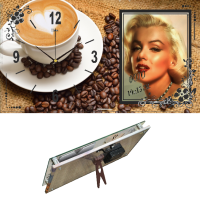 """Часы настольные """"Чашечка любимого кофе"""" 1732-571"""