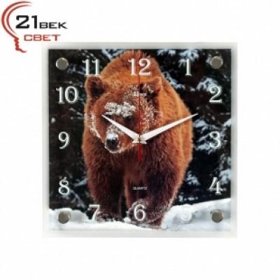 "Часы настенные ""Медведь"" 2525-762"