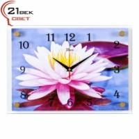 "Часы настенные ""Розовый лотос"" 2535-1058"