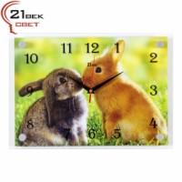 """Часы настенные """"Влюбленные кролики"""" 2535-1202"""