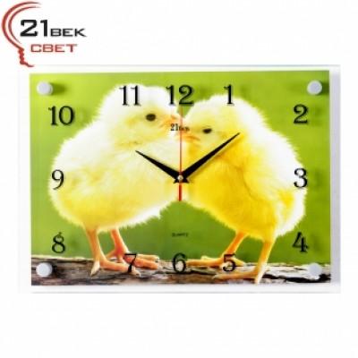 """Часы настенные """"Цыплята"""" 2535-1211"""