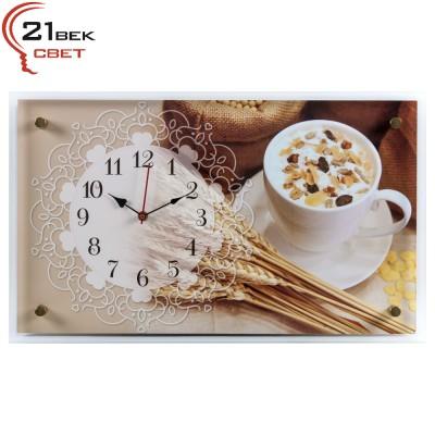 "6036-123 Часы настенные ""Полезный завтрак"""