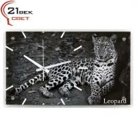 """6036-41 Часы настенные """"Леопард"""""""