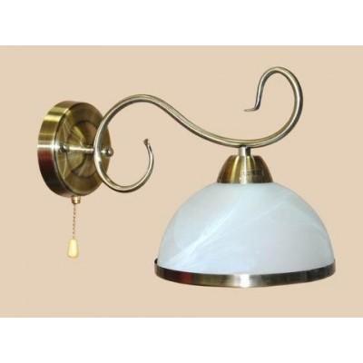 Светильник настенный на одну светоточку  GLB-8675-1-21QG