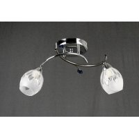 Светильник потолочный на две светоточки GLX-8418-2A-8C