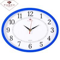 """Часы настенные овал 22,5х29см """"Классика"""" 2720-102BI"""