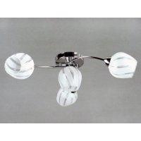 Светильник потолочный на четыре светоточки GLX-8705-4-8C