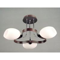 Светильник потолочный на три светоточки GLX-6336-3-350AHMW