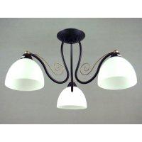 Светильник потолочный на три светоточки GLX-8732-3-3WH