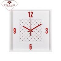 "Часы настенные квадрат  ""Сердечки"" 3028-124W"