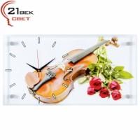 """Часы настенные """"Скрипка и розы"""" 5226-918"""