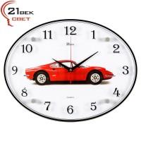 Часы настенные  Машина красная 3546-975