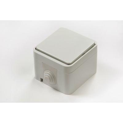 3100 Выключатель 1кл ACQUA белый ASD П/ГЕРМ