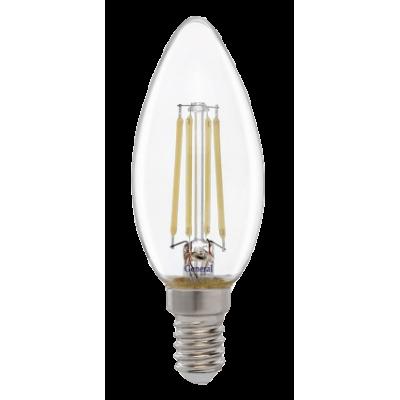 Лампа светодиодная CS -7Вт  230 Е14 6500К  General