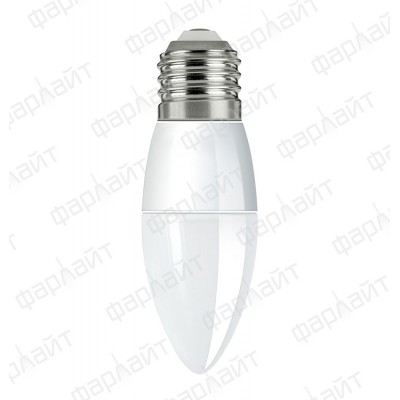 Лампа светодиодная LED 10 Вт 4000К С35 Е27 Фарлайт
