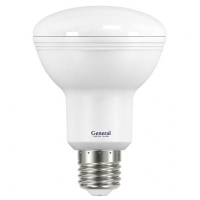 Лампа светодиодная  GLDN-R80-10-230-E27-4500 General
