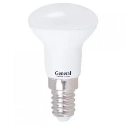 Лампа светодиодная  GLDN-R50-7-230-E14-2700 General