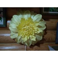 Светодиодный светильник-ночник    хризантема желтая 4Вт.