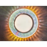 Встраиваемый светильник GLX-GP-6082-GX53-3W-MIX+Диодная подсветка