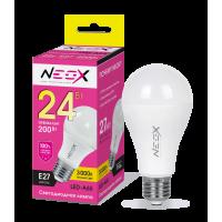 Лампа светодиодная LED-A65 24Вт 230В Е27 3000К 1920Лм NEOX