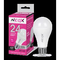 Лампа светодиодная LED-A65 24Вт 230В Е27 6500К 1920Лм NEOX