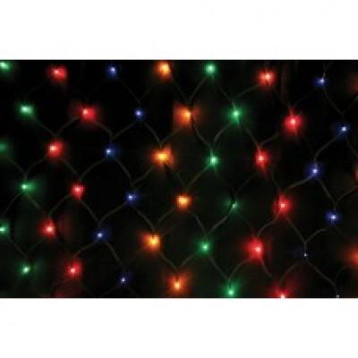 """Гирлянда RGB """"Сетка"""" 160 LED, контроллер"""