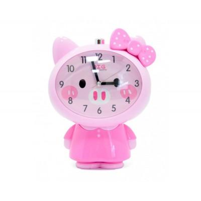 Будильник Ker0397 розовый
