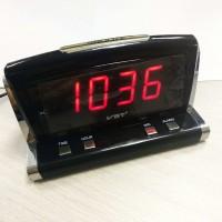 718-1-VST Будильник сетевой