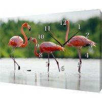 Часы  на холсте 30х40 Х993