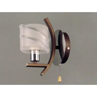Светильник настенный на одну светотехник GLB-8687-1-301SXGTKF