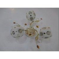 Светильник потолочный на три светоточки GLX-8859-3B-2RG