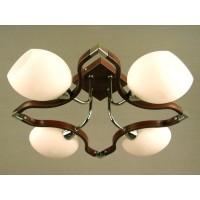 Светильник потолочный на четыре светоточки GLX-6338-4-350AHMW