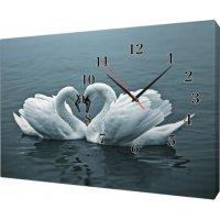Часы  на холсте 30х40 Х980