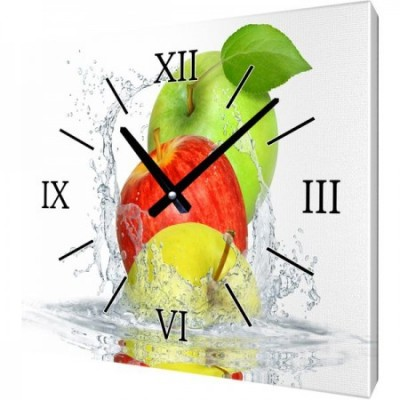 Часы на холсте 50х50 F462