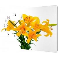 Часы на холсте 25х35 Ж880