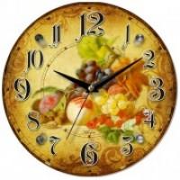 """Часы настенные """"Фрукты"""" 1066"""