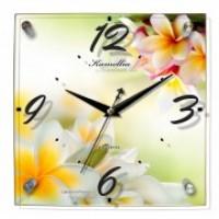 "Часы настенные ""Плюмерия"" 865"
