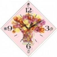 """Часы настенные """"Тюльпаны"""" 914"""