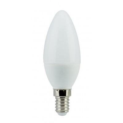 Лампа светодиодная C37-4Вт 3000К 220 Е14 Maguse