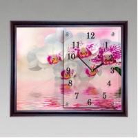 """Часы-картина настенные """"f-212"""" 30х40 см венге"""