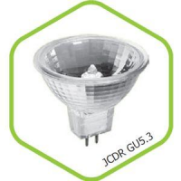 Лампа галогенная JCDR 50Вт 220В GU5.3 900Лм ASD